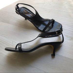 Donald Pliner Kitten Heel Sandals
